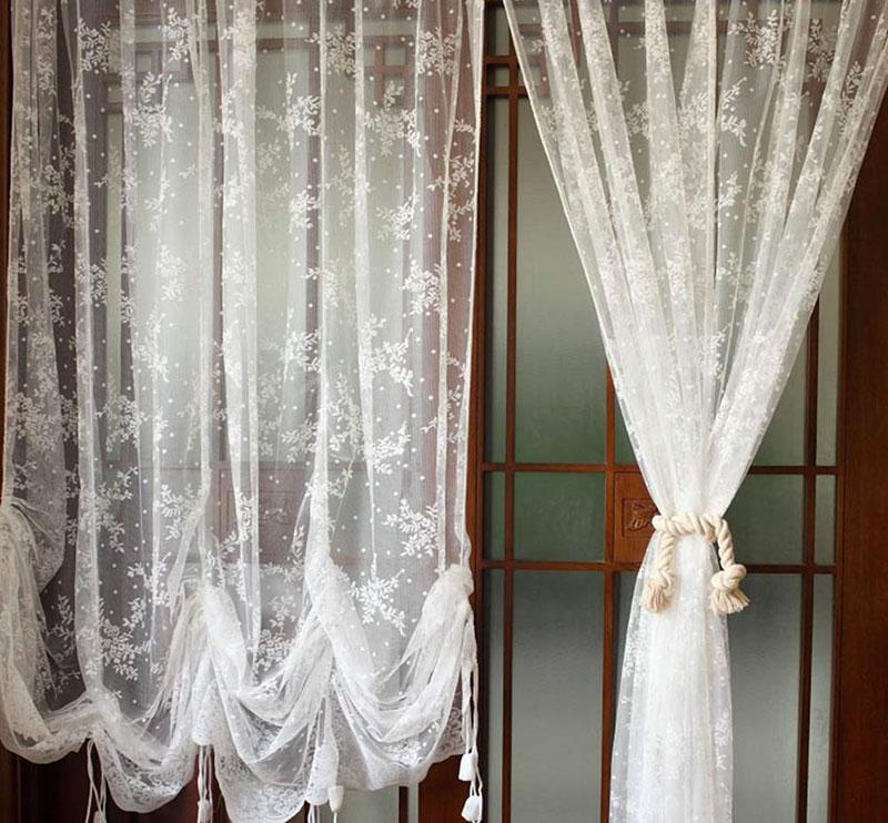Sono perfetti in soggiorno e salotto colori come il grigio chiaro,. 40 Shabby Chic Curtains For The Home Living Room Kitchen Bedroom And Bathroom Checopie