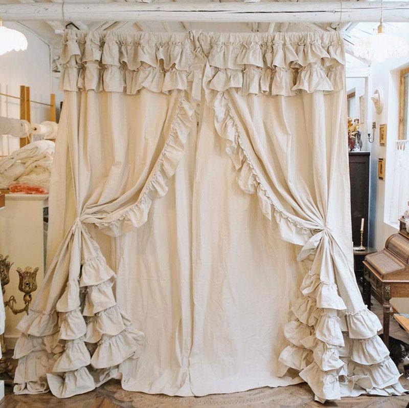 Scopri subito migliaia di annunci di privati e. 40 Shabby Chic Curtains For The Home Living Room Kitchen Bedroom And Bathroom Checopie