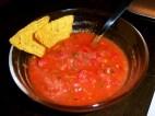 salsa messicana e tortilla