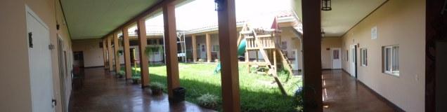 Casa Hogar Courtyard