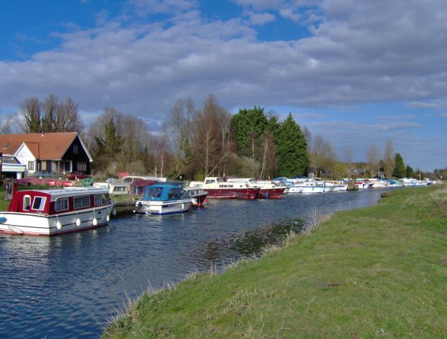Boats on the River Chet
