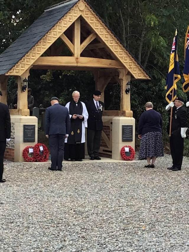 Lychgate Dedication Ceremony