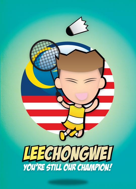 Download lee chong wei cartoon | simplexpict.co