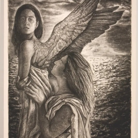 When the Spirit Encounters the Flesh by Eloy Torrez from Cheech Marin's Chicano Art Collection