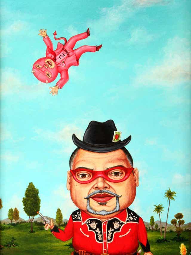 """Small Guns"" (2014) by Robert Palacios is featured in ""Take 10"" at the Mesa Contemporary Arts Museum. (Photo: Robert Palacios)"