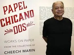 Cheech Marin, Papel Chicano Dos art exhibit featuring hispanic art from Cheech Marin's collection