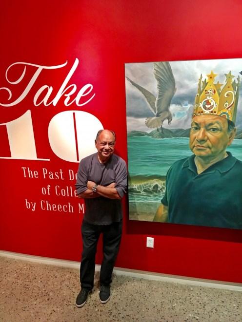 Cheech Marin at Mesa Contemporary Arts Museum (© Melissa Richardson Banks)