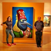 Annabelle Gurwitch with Cheech (© Melissa Richardson Banks)