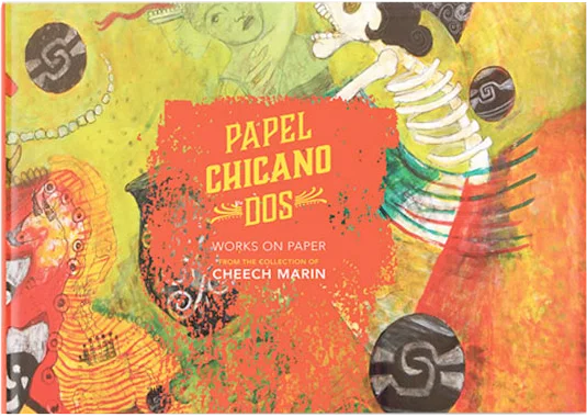 Papel Chicano Dos chicano art exhibit featuring art from the Cheech Marin collection