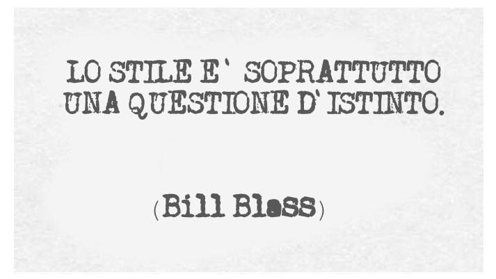 CITAZIONE BILL BLASS
