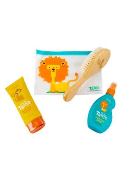 Baby Hair Styling Kit with Wood Brush by T is for Tame