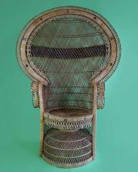 Rattan Princess Chair  Cheeky Tiki Ltd