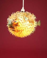 Puffer Fish Light  12-13 Inch  Cheeky Tiki Ltd