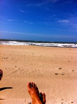 Beach. Punta del Diablo, Uruguay
