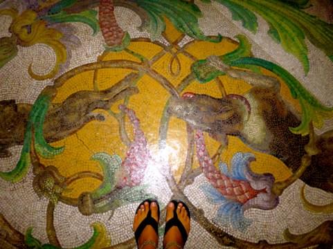 Floor tiles. Sintra, Portugal