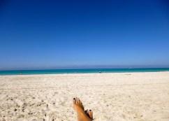 Beach. Varadero, Cuba