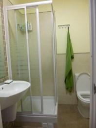 Hostel bathroom, Granada, Spain