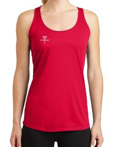 CHEENGZ Ladies Racerback Tank Top Disc Golf Apparel for Women