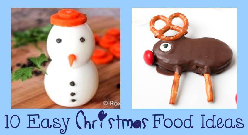 10 Simple and Cute Christmas food Ideas