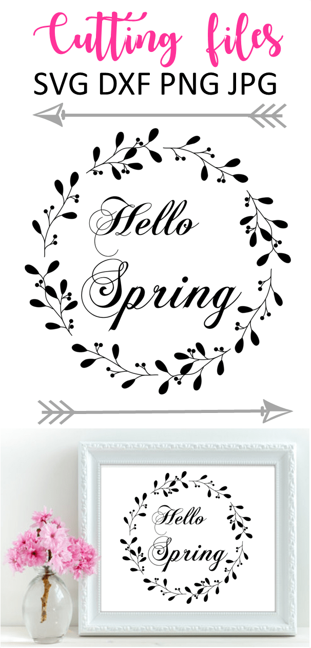 Free Svg Files And Printables To Celebrate Spring Cheer