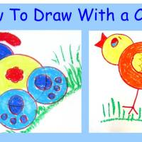 How to draw with a cup