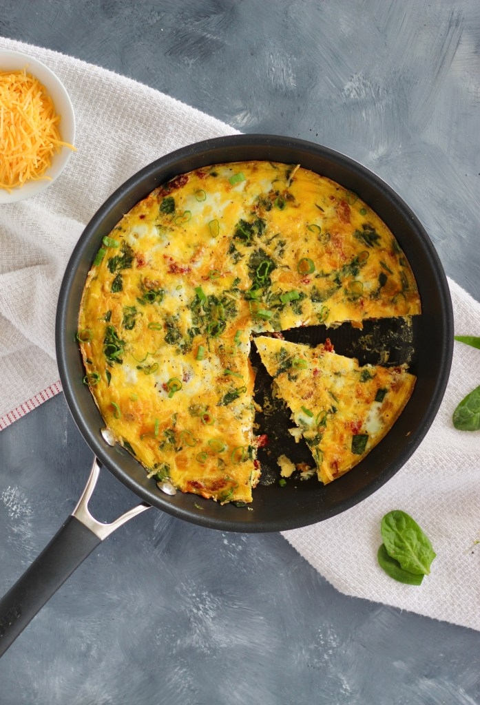 If you have a bunch of veggies lying around, you're in luck! This Vegged-Out Egg Frittata highlights the perfect pairing between fresh eggs and colorful vegetables. Try making this for a filling breakfast, a star dish of a brunch get-together or for meal prepping.
