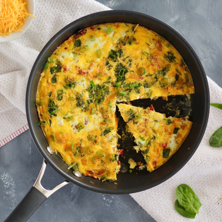 Vegged-Out Egg Frittata