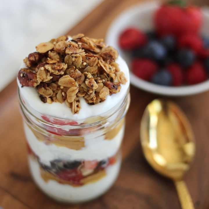 4-Ingredient Customizable Yogurt Parfait