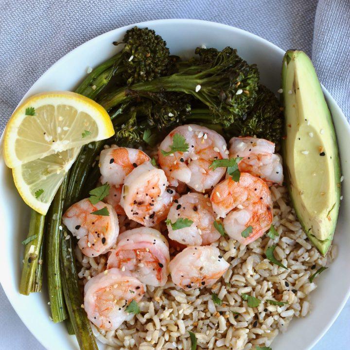 6 Ingredient Sheet Pan Shrimp Dinner