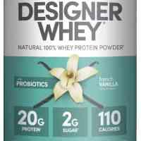 Designer Vanilla Protein Powders