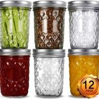16 ounce Wide Mouth Mason Jars