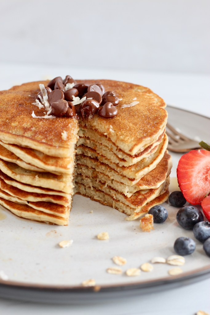 Layers of pancakes