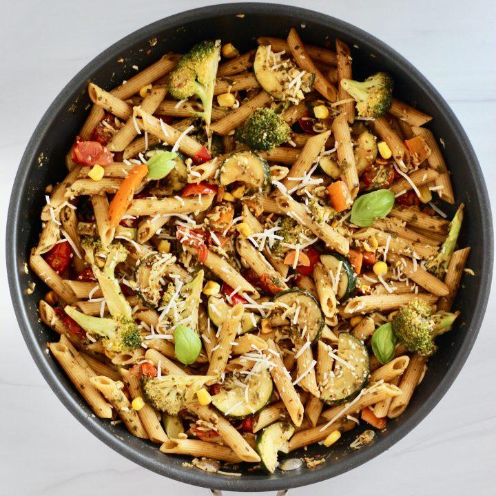 Pesto Pasta with Vegetables