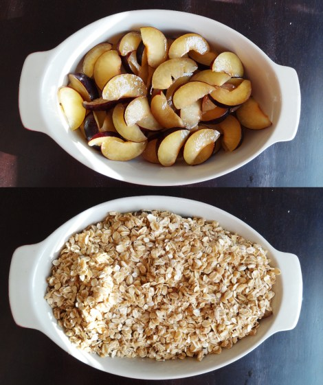 Plum Crumble TheCheerfulKitchen