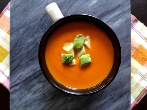 Sweet Potato Chipotle Soup via The Cheerful Kitchen