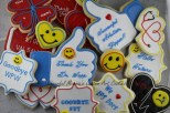 Doctor Cookies by Cheerful Momma's Custom Art Cookies