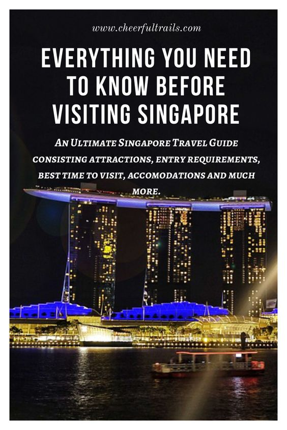 If you are planning to visit Singapore or considering it as one of the destinations you would want to visit, here's an ultimate Singapore Travel Guide which will provide you all the useful insights that you must know before traveling to this wonderful city.