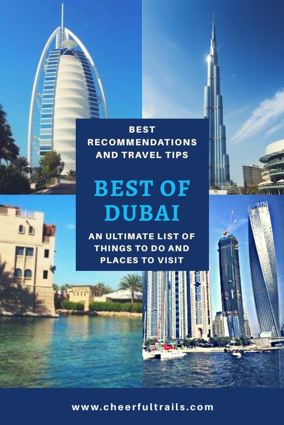Top Things To Do & Places To Visit In Dubai - Best Of Dubai