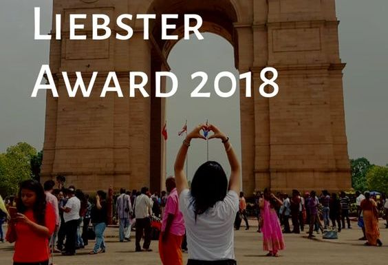 Nominated for Liebster Award 2018