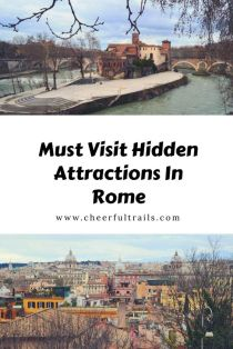 Discover the hidden and most important secret attractions in Rome