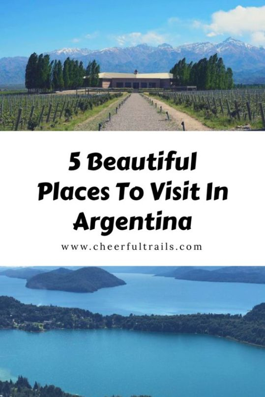 At over 1 million square miles (or almost 3 million square kilometers), Argentina is the 8th largest country in the world by area. As someone who finds Argentina very near and dear to her heart, these are my top five places to see while visiting Argentina.