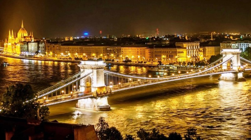 Chain Bridge, Budapest - places to visit in europe in summer