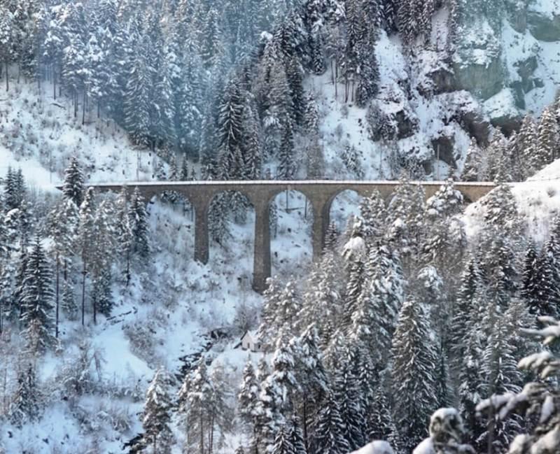 Landwasser Viaduct, Glacier Express