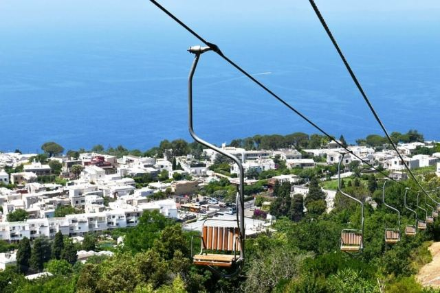 Chairlift To Monte Solaro - Capri In One Day Itinerary