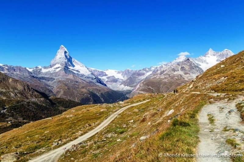 Five Lakes hike in Zermatt