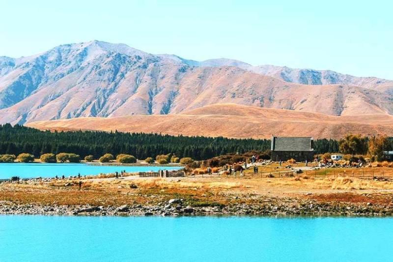Lake Tekapo - New Zealand Honeymoon