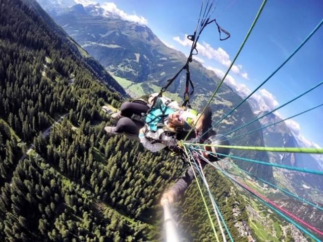 Verbier Paragliding