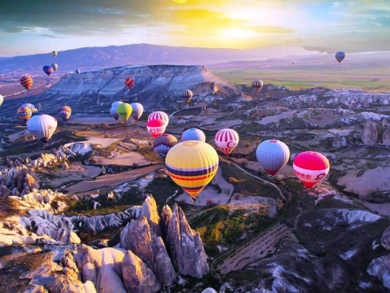 Hot Air Balloon Ride - Cappadocia Itinerary