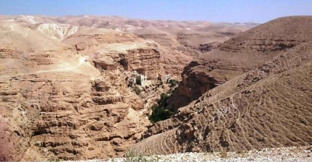 Wadi Qelt - Day Trips From Jerusalem