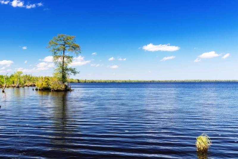 Lake Drummond - Beautiful Lakes In The United States